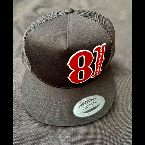 Grey Baseball Hat Support 81